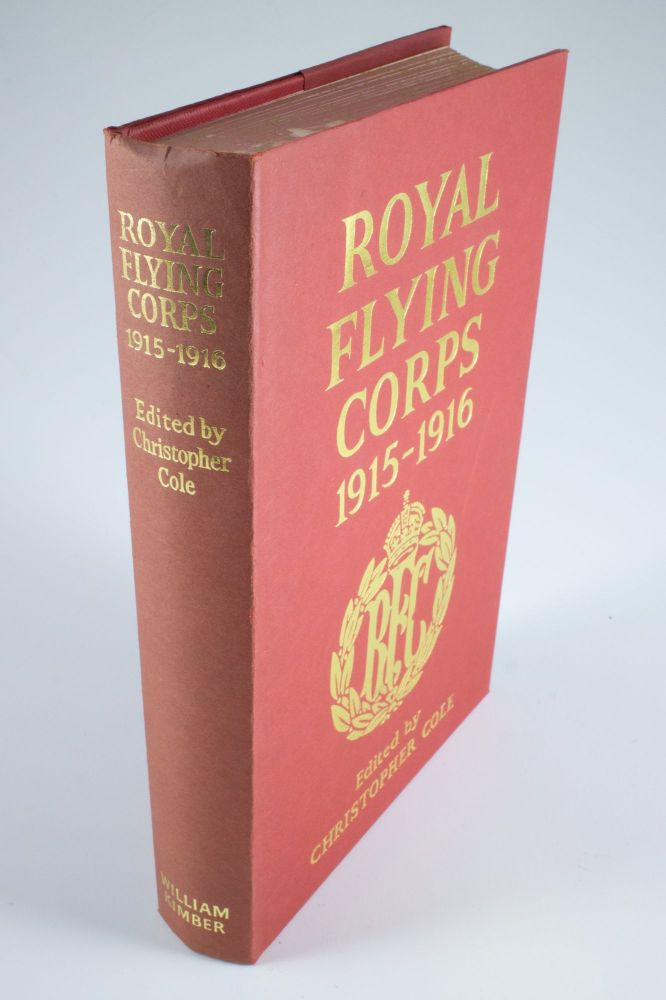 Royal Flying Corps 1915-1916. Christopher COLE.