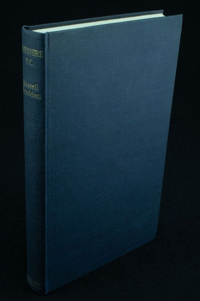 Cheshire V.C; A study of war and peace. Russell BRADDON.
