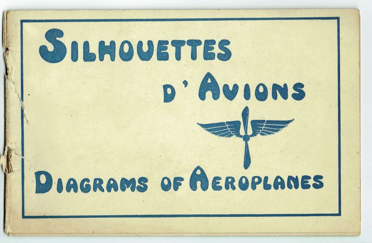 Silhouettes d'Avions; Diagrams of Aeroplanes
