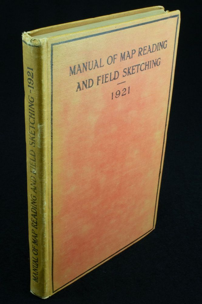Manual of Map Reading and Field Sketching 1921. British Army.