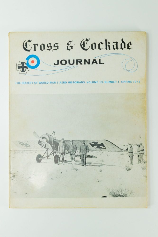 Cross & Cockade; Journal of the Society of World War I Aero Historians. Volume 13, number 1. Charles WOOLLEY.