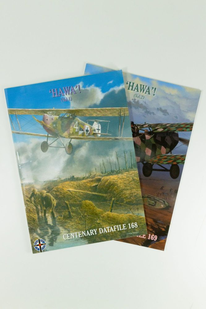 'Hawa'! Hannover CL.II & Variants; Centenary Datafile 168 and 169. Two volume set. Ray RIMELL, Harry WOODMAN.
