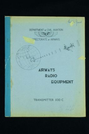 Airways Radio Equipment; Airaco Medium Frequency and High Frequency Transmitter Type 500 C....