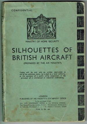 Silhouettes of British Aircraft; Prepared by the Air Ministry