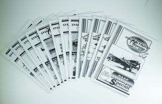 Ian K. Baker's Aviation History Colouring Book.; Individual titles as follows: Number 55 RAAF...