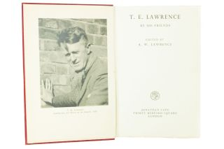 T.E. Lawrence by His Friends; Edited by A.W. Lawrence