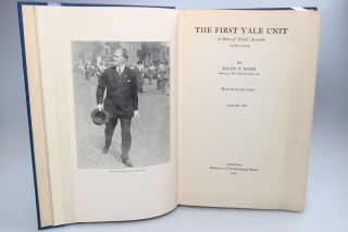 The First Yale Unit; A Story of Naval Aviation. 1916-1919.